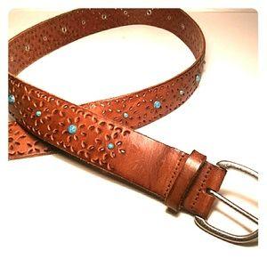 Aeropostale genuine leather belt size large